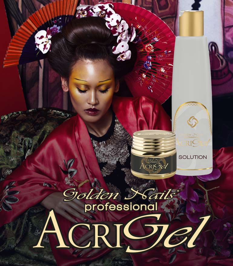 acri gel golden nail acrilico gel unghie